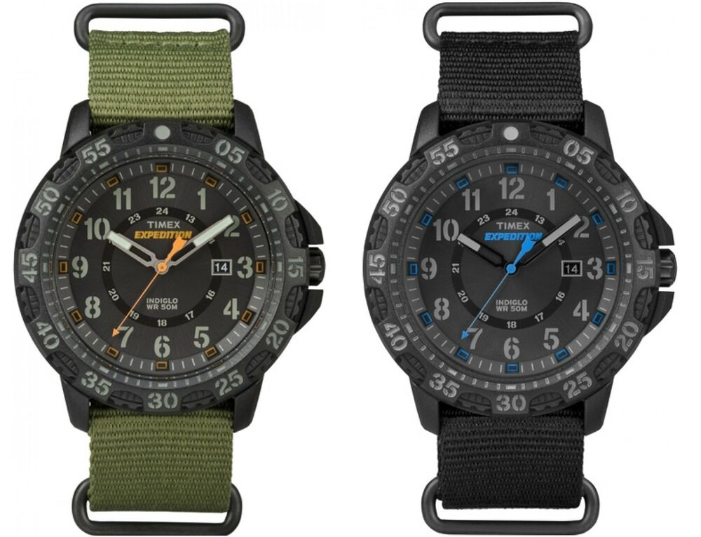 Timex men 39 s expedition gallatin nylon strap 24 hour tactical dial outdoor watch ebay for Outdoor watches
