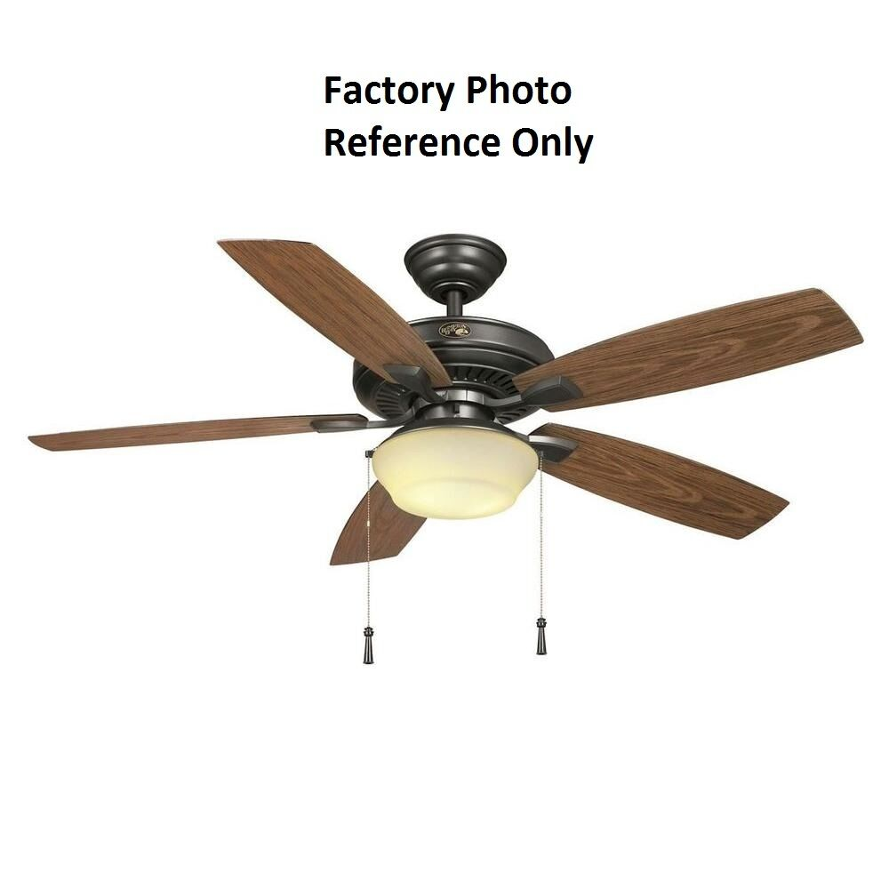 Hampton Bay Ceiling Fan Replacement Parts: Hampton Bay Gazebo II 52 In. Indoor/Outdoor Natural Iron