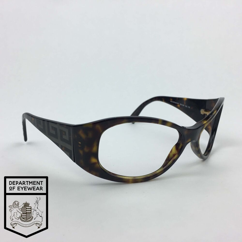 d783107cc9 Details about GIVENCHY eyeglass TORTOISE frame OVAL Authentic. MOD  SGV 549