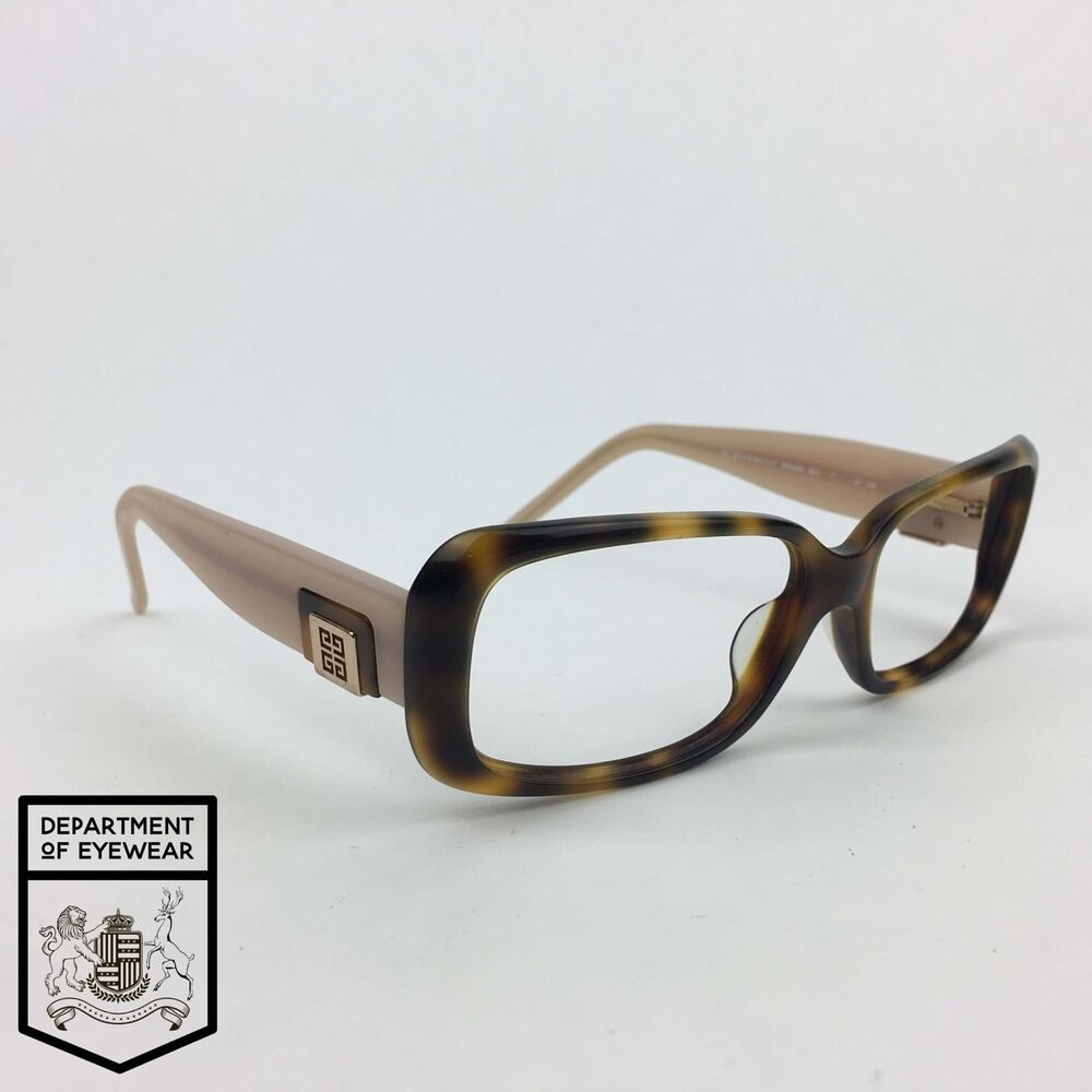 970a9839ba Details about GIVENCHY eyeglass TORTOISE   PINK frame RECTANGLE Authentic.  MOD  SGV660