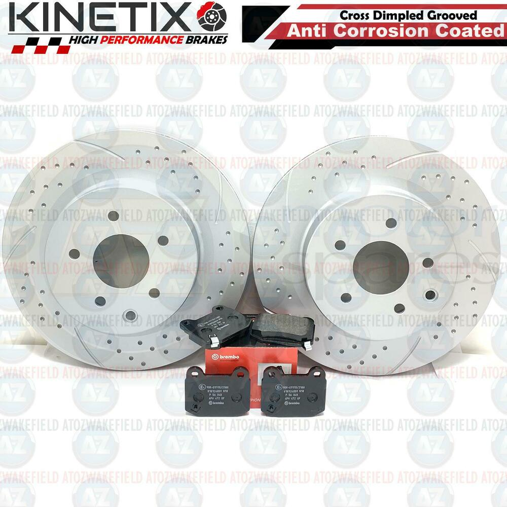 2004 Infiniti G35 Rotors: FOR NISSAN 350Z INFINITI G35 REAR DIMPLED GROOVED BRAKE