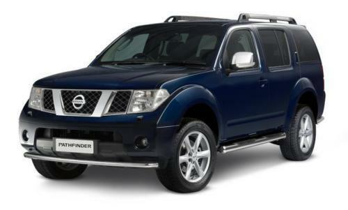 nissan pathfinder r51 navara d40 pair of chrome wing. Black Bedroom Furniture Sets. Home Design Ideas