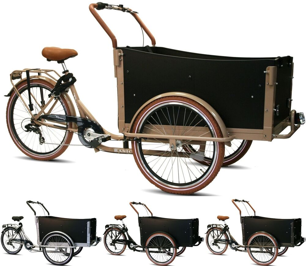 26 zoll lastenrad 7 gang troy bakfiets deluxe dreirad. Black Bedroom Furniture Sets. Home Design Ideas