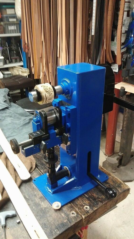 leather embossing machine quot new quot custom made in usa ebay