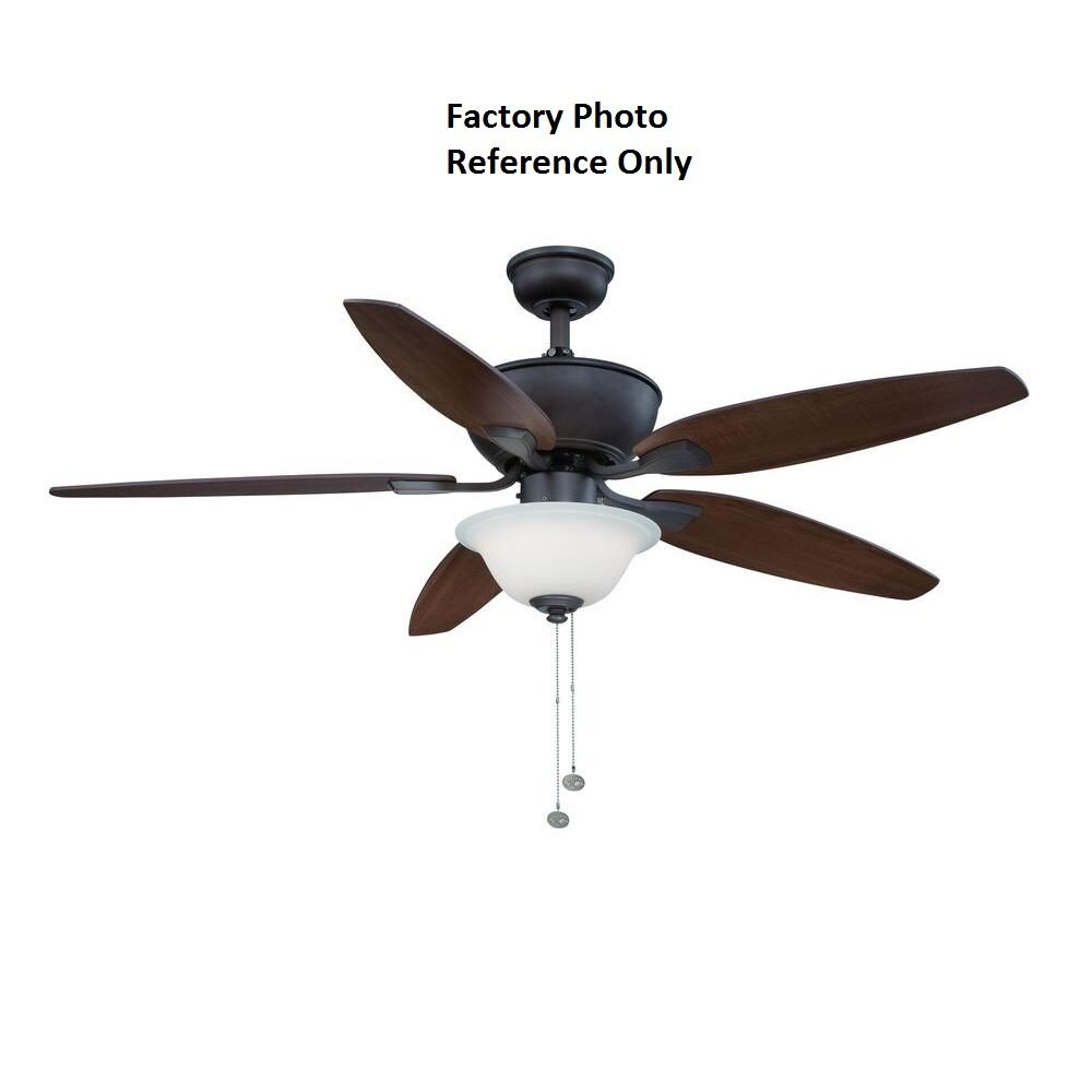 Hampton Bay Ceiling Fan Replacement Parts: Hampton Bay Carrolton II LED 52 In. Oil-Rubbed Bronze