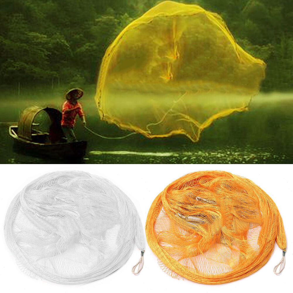 Nylon monofilament fish gill net for hand casting for Gill net fishing