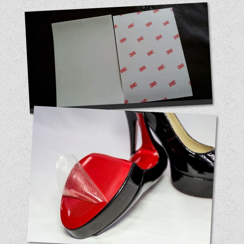 49adba18955 Details about Crystal Clear 3M Sole Protector For Red Bottoms Louboutin Jimmy  Choo