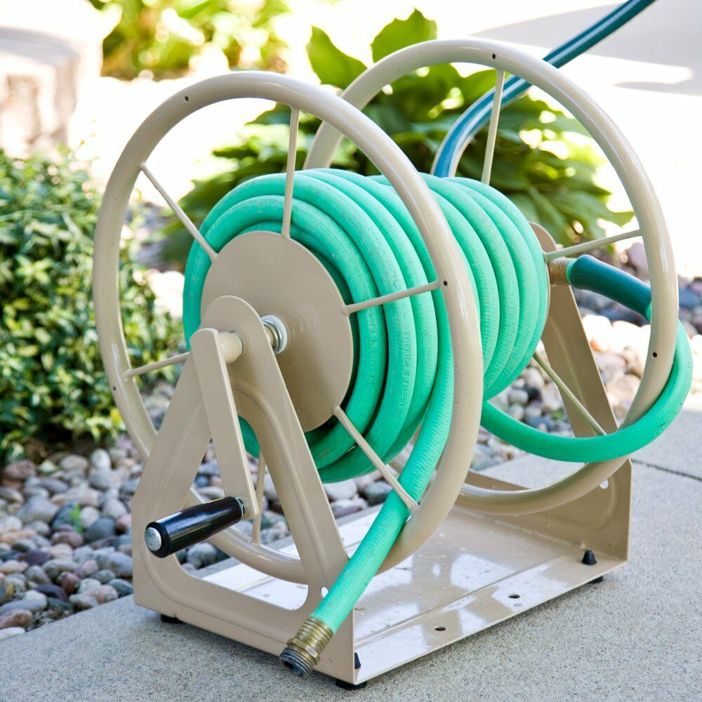 Hose Stands: Liberty Garden Multi Purpose Wall Mount Hose Reel