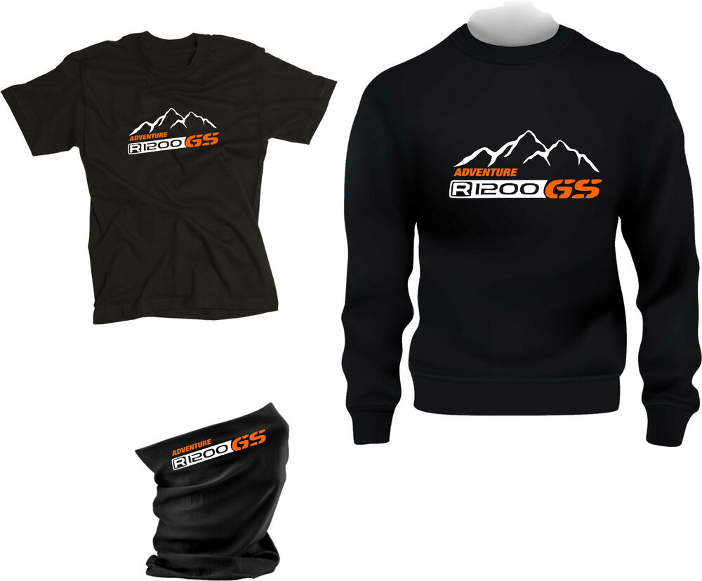 bmw r 1200 gs adventure geschenk set pullover t shirt. Black Bedroom Furniture Sets. Home Design Ideas