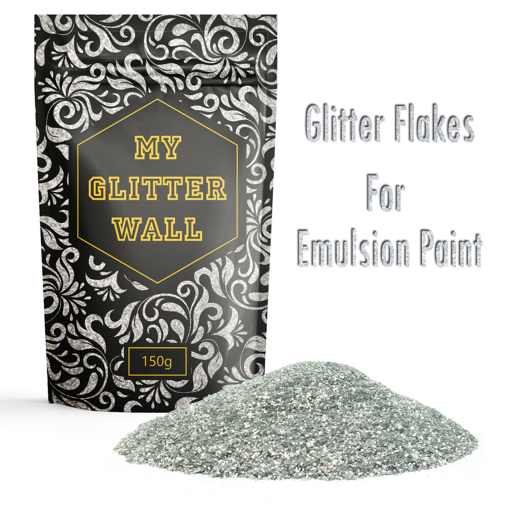 My Glitter Wall 150g Glitter For Emulsion Paint Crystal