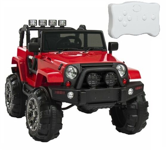 Battery Operated Ride On Toys >> Kids Ride On Truck 12V Battery Powered Jeep Toy Outdoor ...