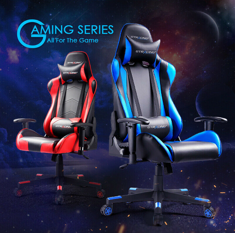Gt Racing Chair Executive Gaming Chair Ergonomic Leather