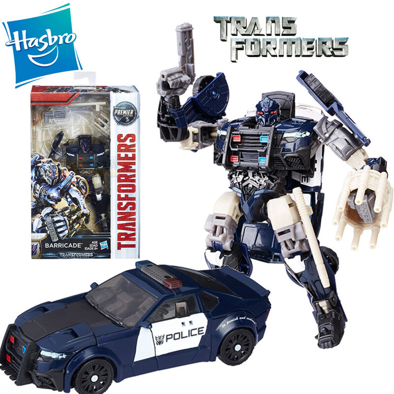 transformers 5 the last knight barricade action figures car premier edition toy ebay. Black Bedroom Furniture Sets. Home Design Ideas