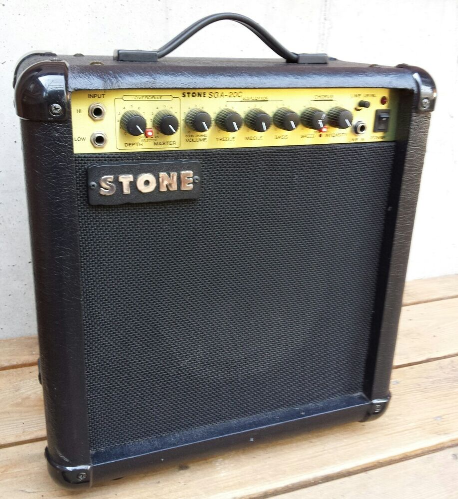 stone model sga 40rc guitar amplifier electric guitar amp 36 watt chorus ebay. Black Bedroom Furniture Sets. Home Design Ideas