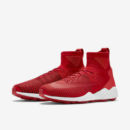 bae9681e2098 Details about NIKE ZOOM MERCURIAL XI FK FLYKNIT MEN S SNEAKERS UNIVERSITY  RED 844626 600