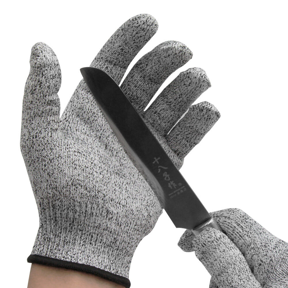 Cut Resistant Gloves Anti-Cutting Food Grade Level 5