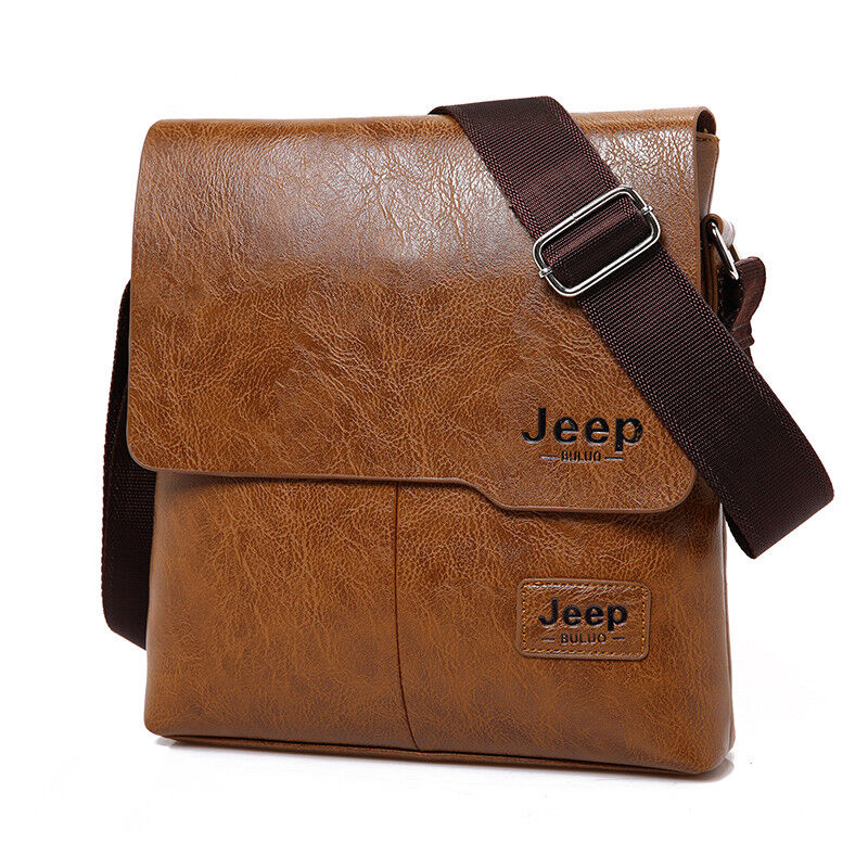 Borsello uomo tracolla Jeep Buluo pelle 2017 Iphone Ipad men bag messenger  | eBay