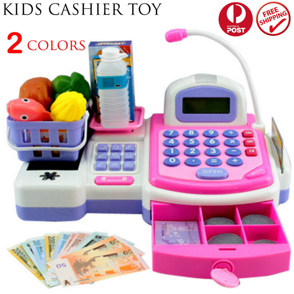 Toys For Play : Kids toys simulation cash register pretend shopping