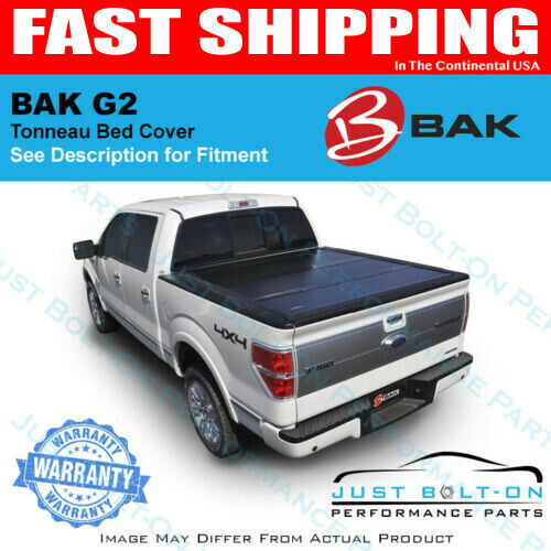 6adf3dd905e Details about BAKFlip G2 Hard Folding Bed Cover for 2016-17-18-19 Toyota  Tacoma 5  BAK 226426