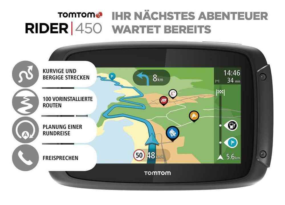 tomtom rider 450 weltkarte motorradnavi incl lfetime maps. Black Bedroom Furniture Sets. Home Design Ideas