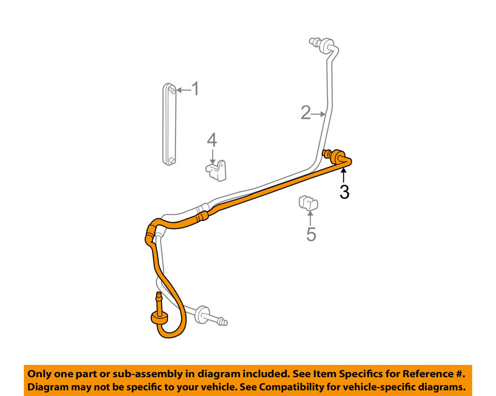 details about chevrolet gm oem 2005 impala 3 8l-v6 transmission oil-cooler  pipe 15264588