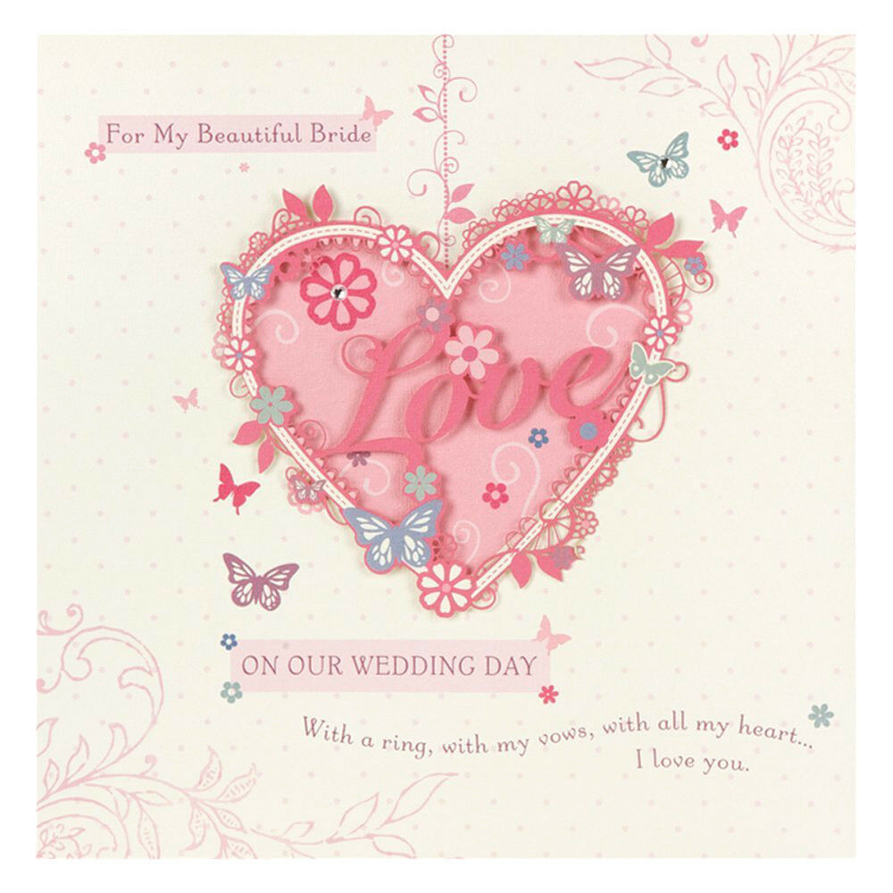 For my beautiful Bride on our Wedding Day. BEAUTIFUL Wife Wedding ...