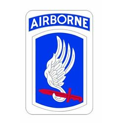173rd Airborne Brigade Sticker M618 Military Armed Forces
