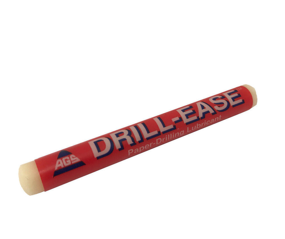 Drill Ease Lube Paper Drilling Lubricant Wax Stick Bindery