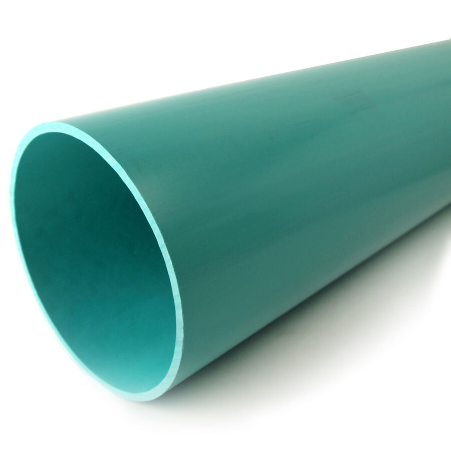 Charlotte pipe light green 6 in x 2 ft solid pvc sewer for Buy plastic pipe