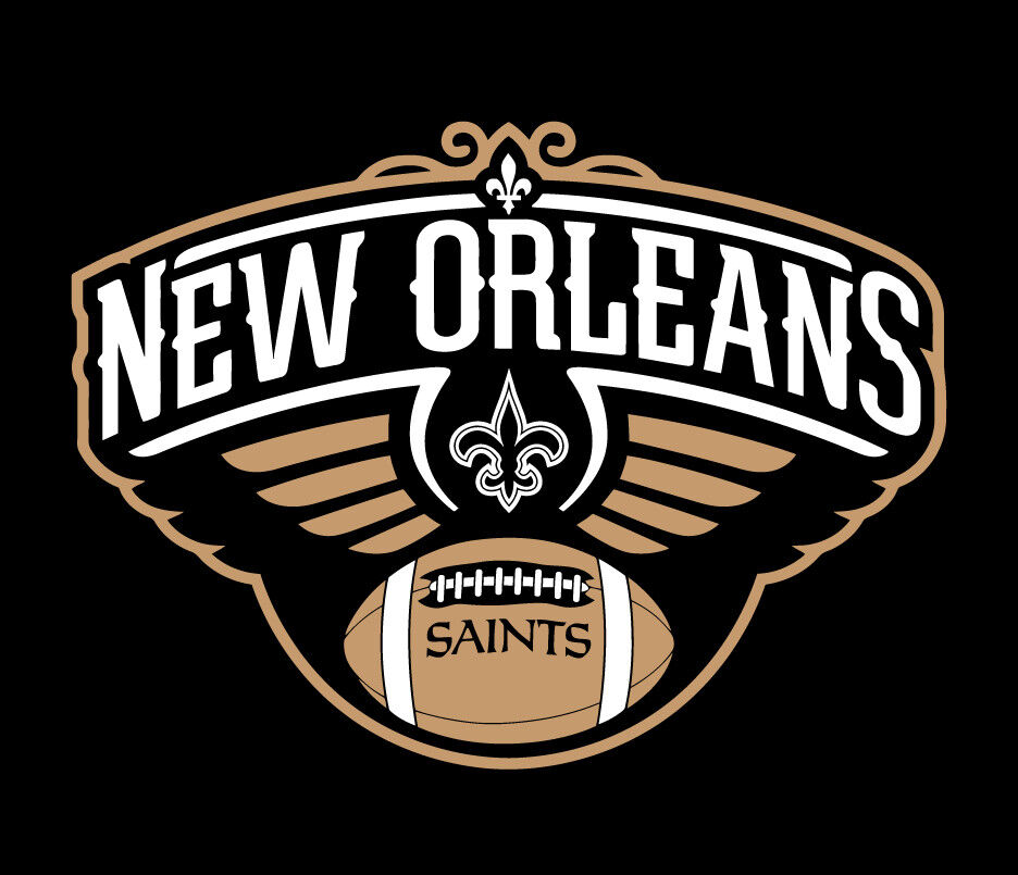 New orleans saints pelicans shirt drew brees ad anthony for New orlean saints shirts