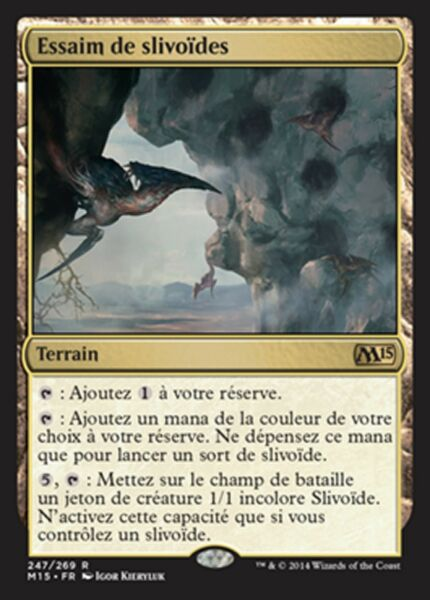 Sliver Legion MTG magic FUT MRM FRENCH Légion de slivoides