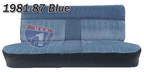 1981 1982 1983 1984 1985 1986 1987 Chevy GMC Truck Bench Seat Cover Orig. Style | eBay