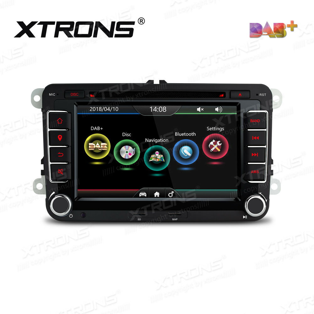 autoradio dvd gps navi eingebauter dab f r vw t5 golf v. Black Bedroom Furniture Sets. Home Design Ideas