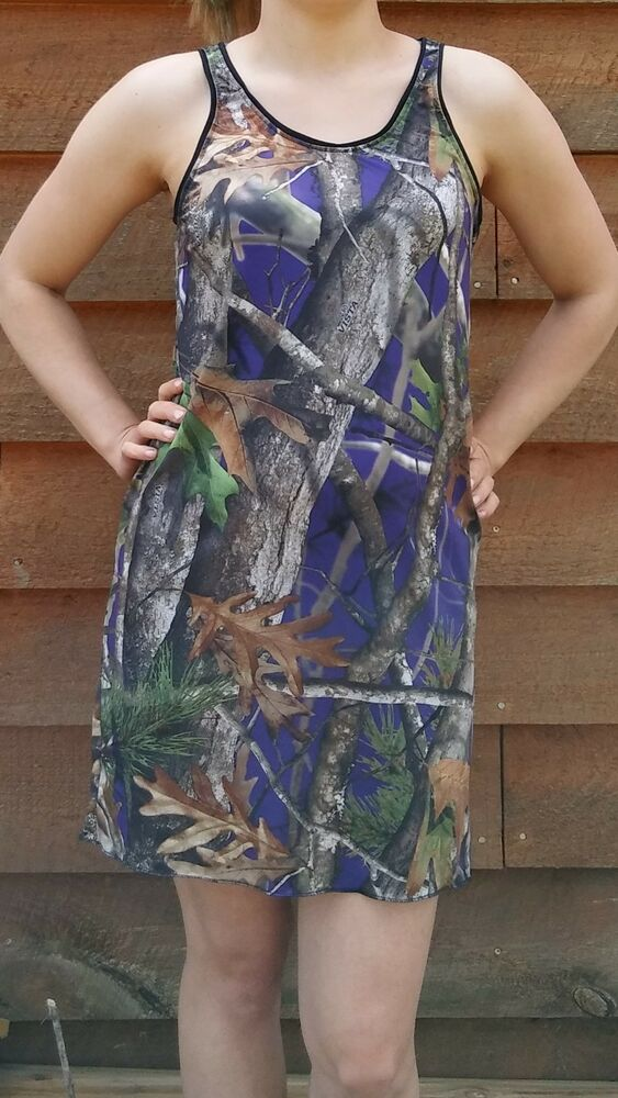 3cd563fe23 Details about Camouflage Nightgown Cover Up Dress-Camo Nightshirt-Made In  USA