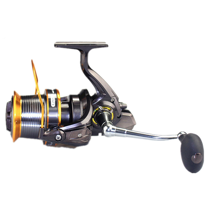 Long shot metal saltwater spinning fishing reel spool surf for Surf fishing reels