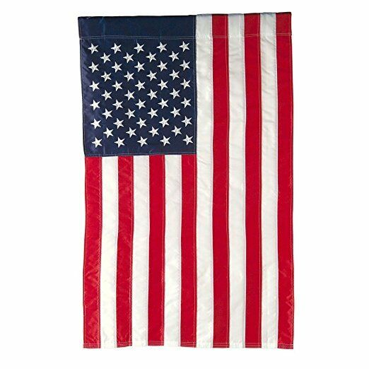 3panel american usa united states of america flag canvas american garden flag w sleeve 12 quot x 18 quot usa united 308