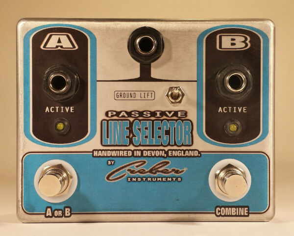 PASSIVE LINE SELECTOR ABY Instrument Amp Selector Switch Splitter - FREE P&P