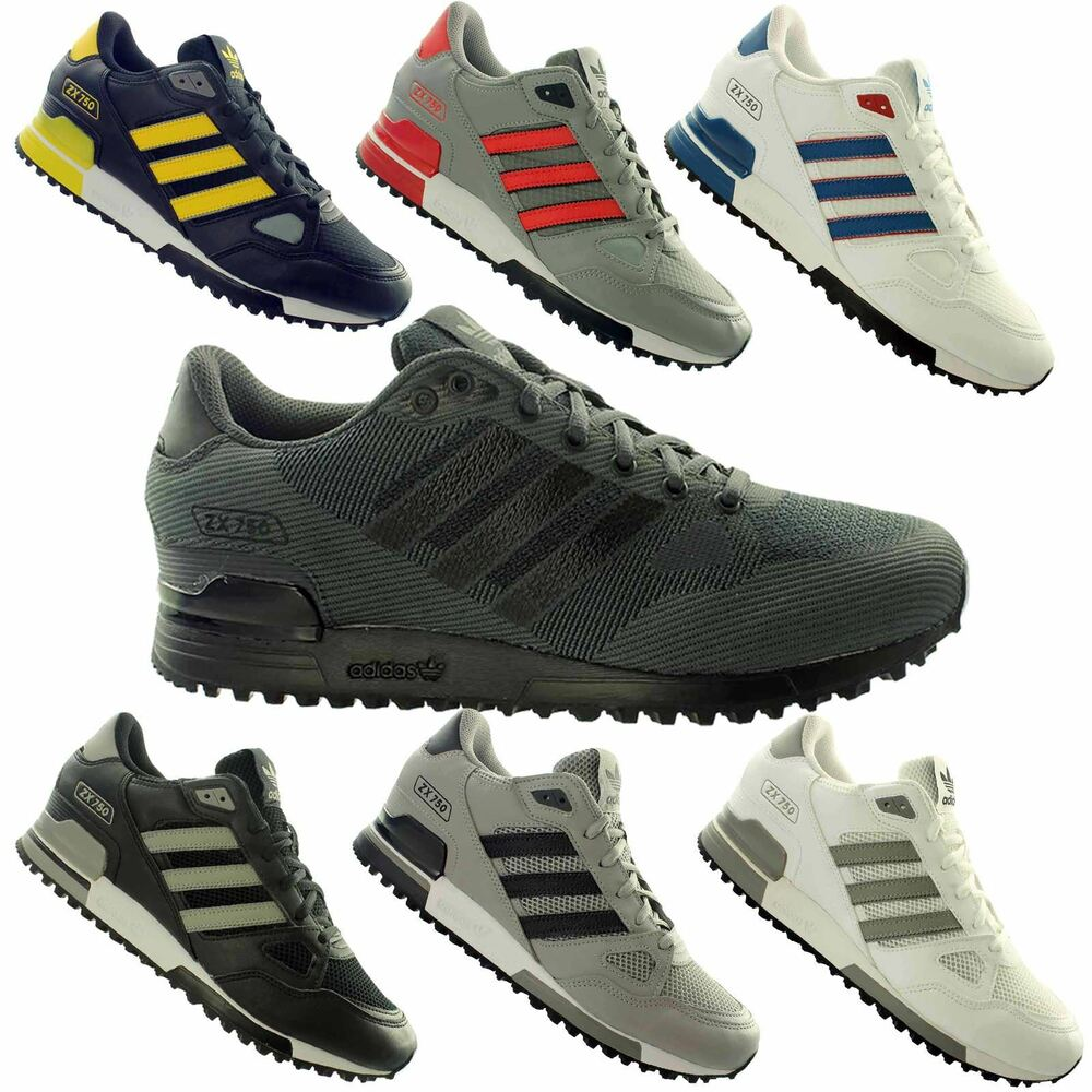 Dettagli su adidas ZX 750 Mens Trainers~Originals~UK 3.5 - 11.5 Only 855e69fdd