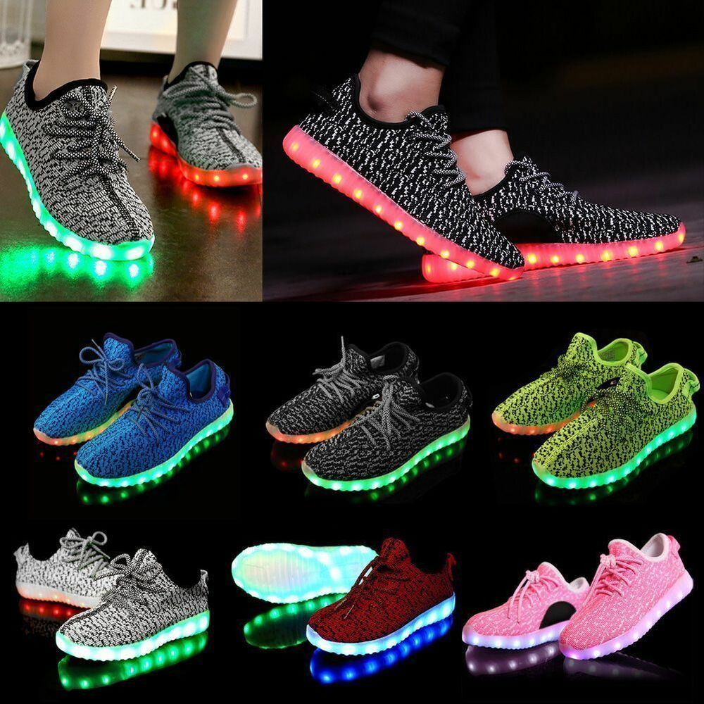 Women Men LED Luminous Light up Shoes Cool Casual Sportswear Sneakers MAX  sc 1 st  eBay & Light Up Shoes | eBay azcodes.com