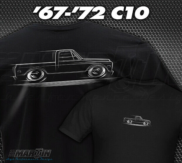 1970 Ford F100 >> C-10 Chevy / GMC Truck T-Shirt Chevrolet C10 Shortbed 67 ...