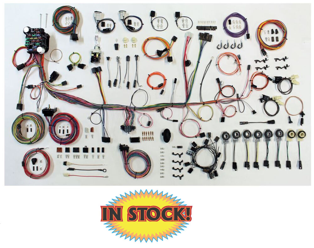 1979 80 Pontiac Firebird Classic Update Wiring Kit American Instrument Cluster Circuit Board For Cars With Warning Autowire 510689 Ebay