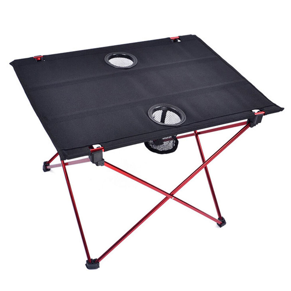Lightweight Folding Aluminum Camping Picnic Table Outdoor