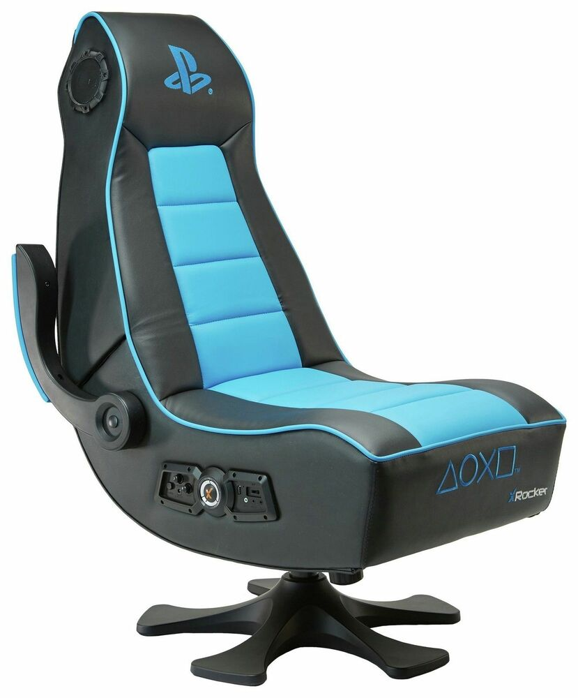 x rocker infiniti playstation gaming chaise rh12 ebay. Black Bedroom Furniture Sets. Home Design Ideas