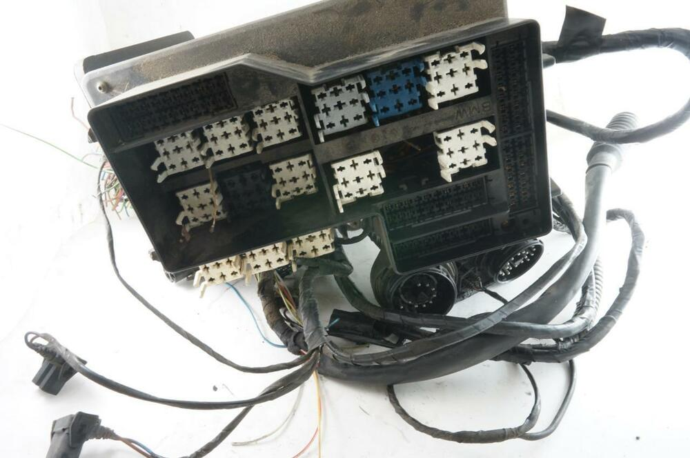 s l1000 oem bmw e36 m42 obd1 engine bay fuse box relay box wiring 92 95 Automotive Relay Box at gsmx.co