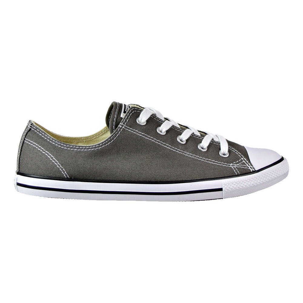 a5aa21eac4b Details about Converse Chuck Taylor All Star Dainty Ox Women's Shoes  Charcoal 532353f
