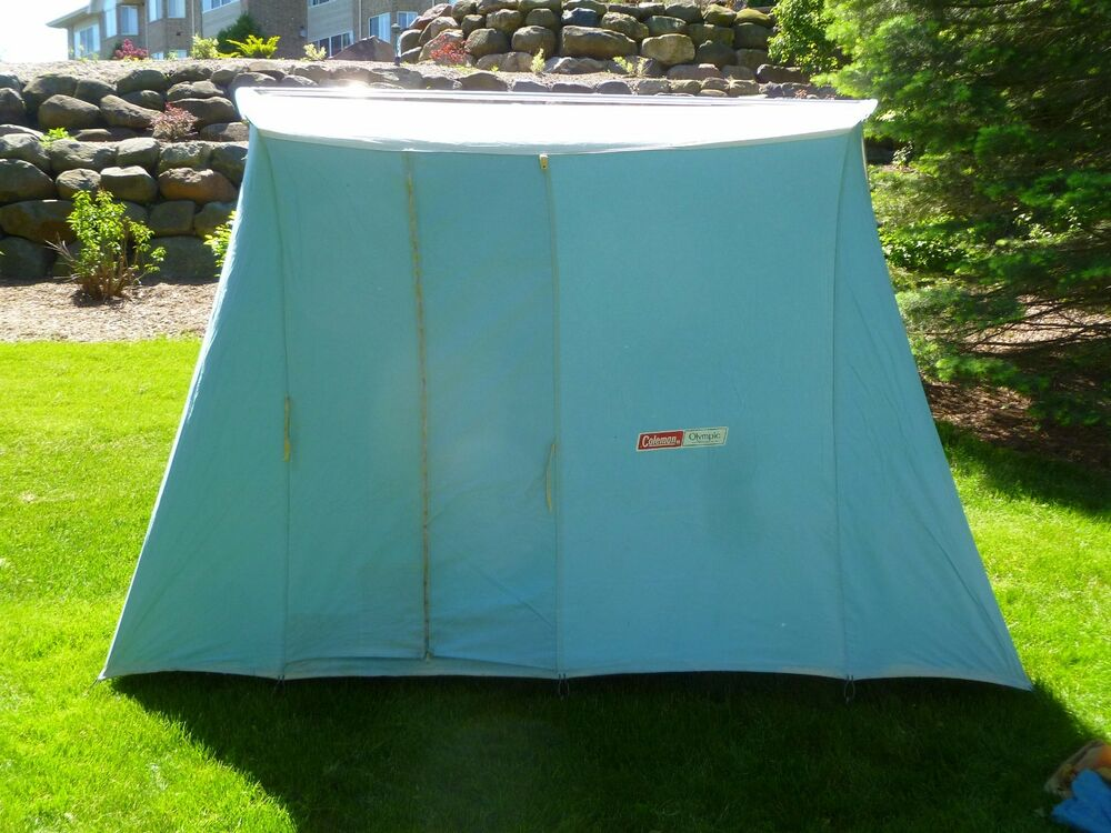 Coleman Springbar Tent & Excellent All Around Tent