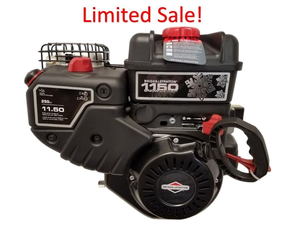 15c107 0040 11 5 briggs and stratton snow engine 3 4 x 2 5 16 formerly 8hp ebay. Black Bedroom Furniture Sets. Home Design Ideas