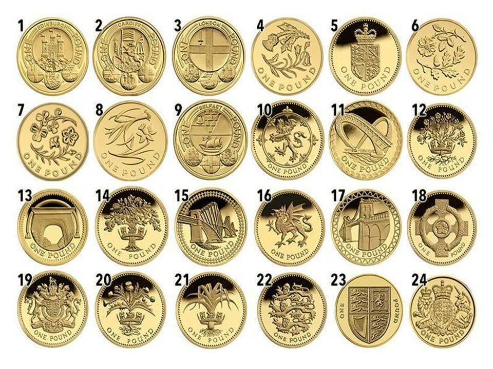1 One Pound Rare British Coins Coin Hunt 1983 2017 All In Stock Ebay