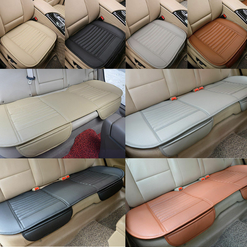5 seats set pu leather car seat cover breathable pad mat for auto chair cushion ebay. Black Bedroom Furniture Sets. Home Design Ideas
