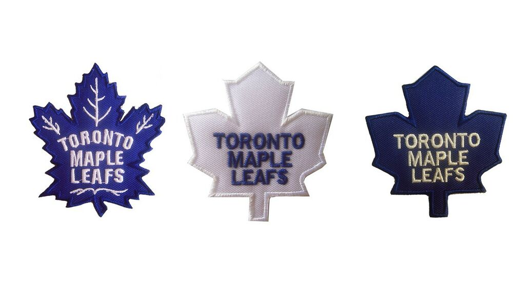 3869d2d4abd Details about New NHL Toronto Maple Leafs embroidered iron on patch.